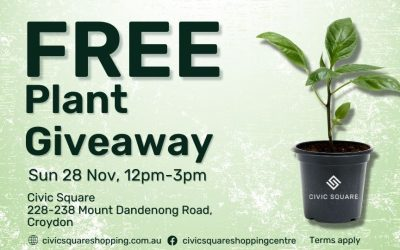 FREE Plant Giveaway