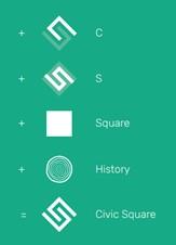 Civic Square Logo Process